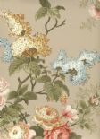 Waverly Cottage Wallpaper Emma's Garden 326146 By Rasch Textil For Brian Yates